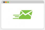 Desktop fax software mail image