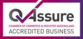 Qassure Accredited messaging and sms platform for business symbol