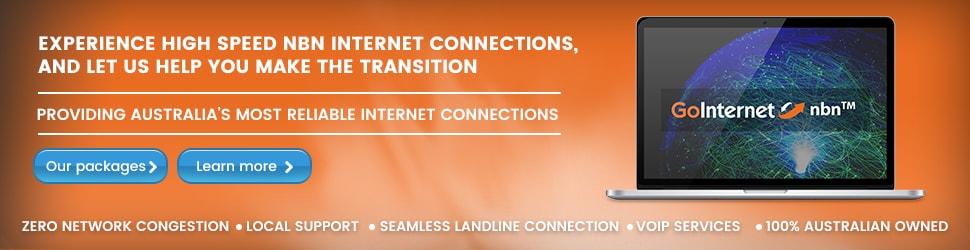 GoInternet nbn banner