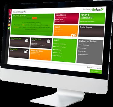 nbn™ fax solutions gofax dashboard