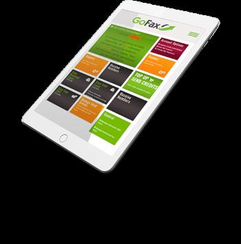 GoFax online fax service